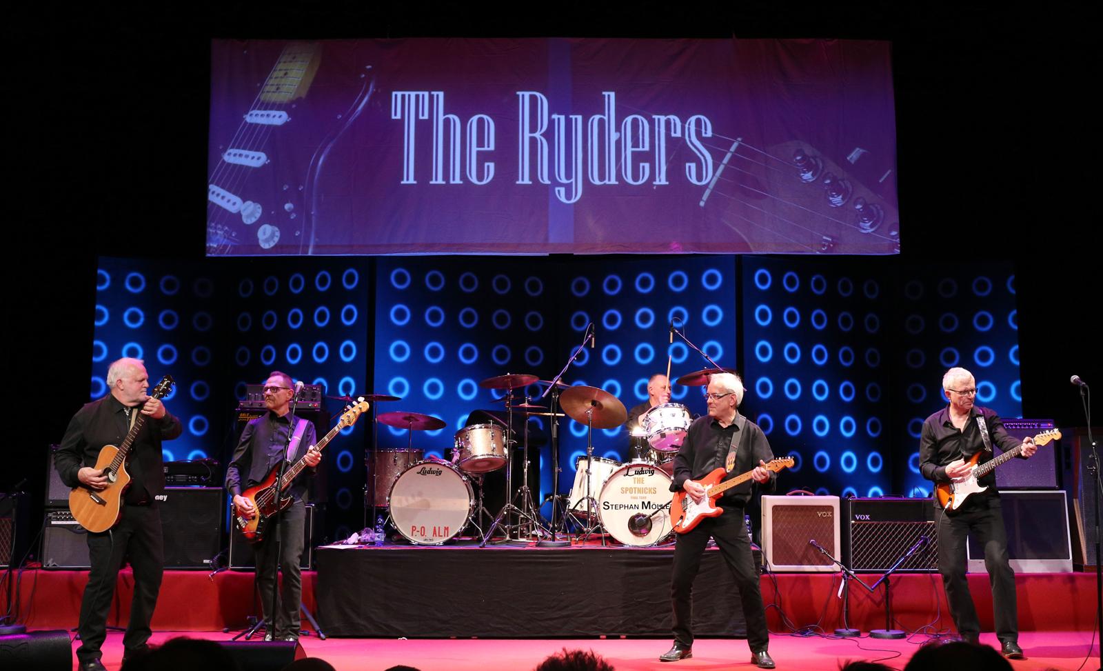 60-talsbandet The Ryders kommer tillbaka till Kulturhuset KilArena.